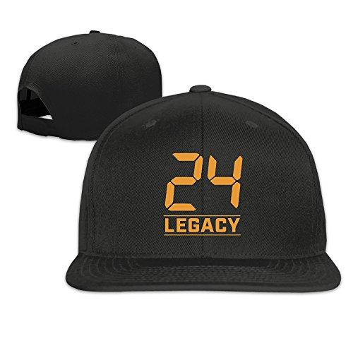 Sport 24 Legacy Logo Fitted Hat Mens Black Adjustable
