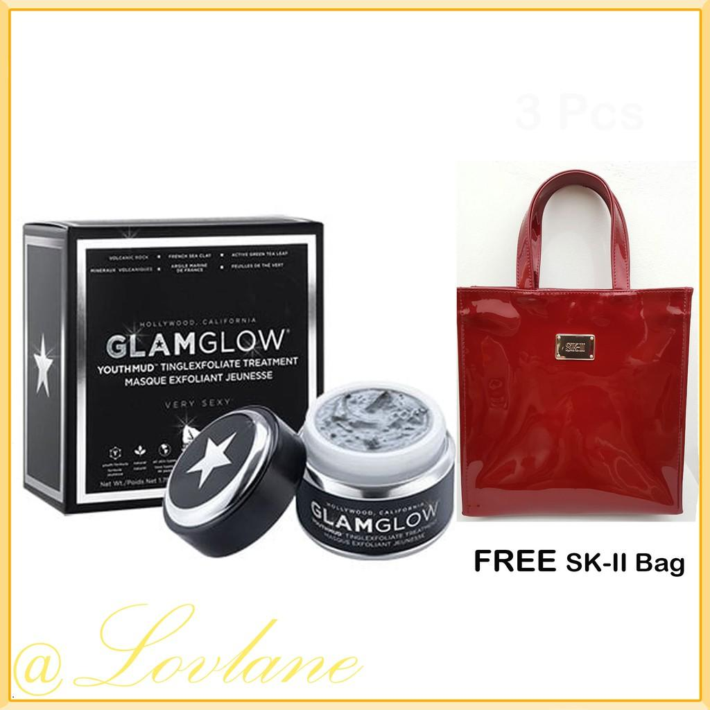 Buy Sell Cheapest Glamglow Original Youthmud Best Quality Product Supermud 50 Gr Tinglexfoliate Treatment 50gr