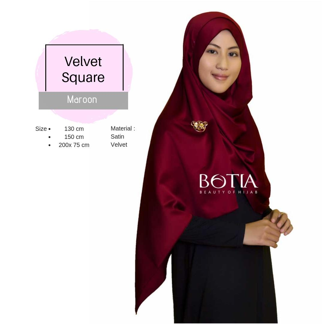botia-jilbab satin silk- velvet-pashmina