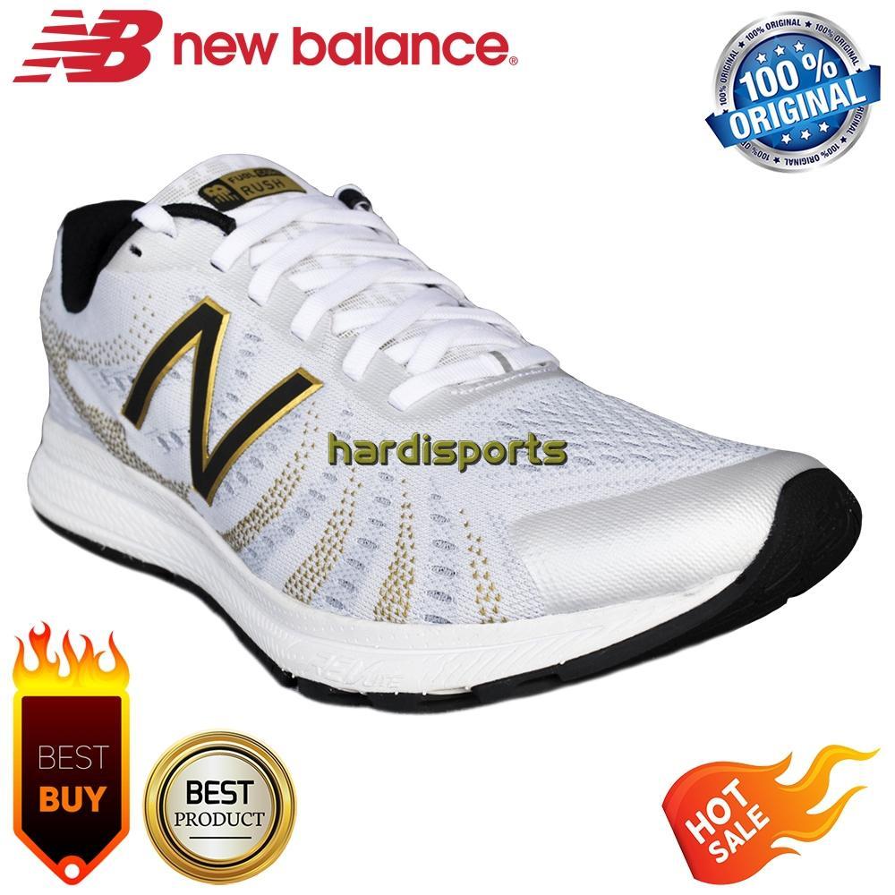 Jual Produk New Balance Terbaru 100 Original Sepatu Running Pria Vazee Rush Fuel Core Mrushsw3 White
