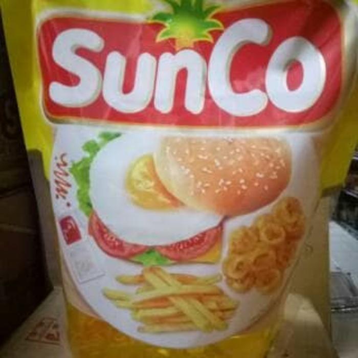 Promo - Minyak goreng sunco 2 liter per dus original