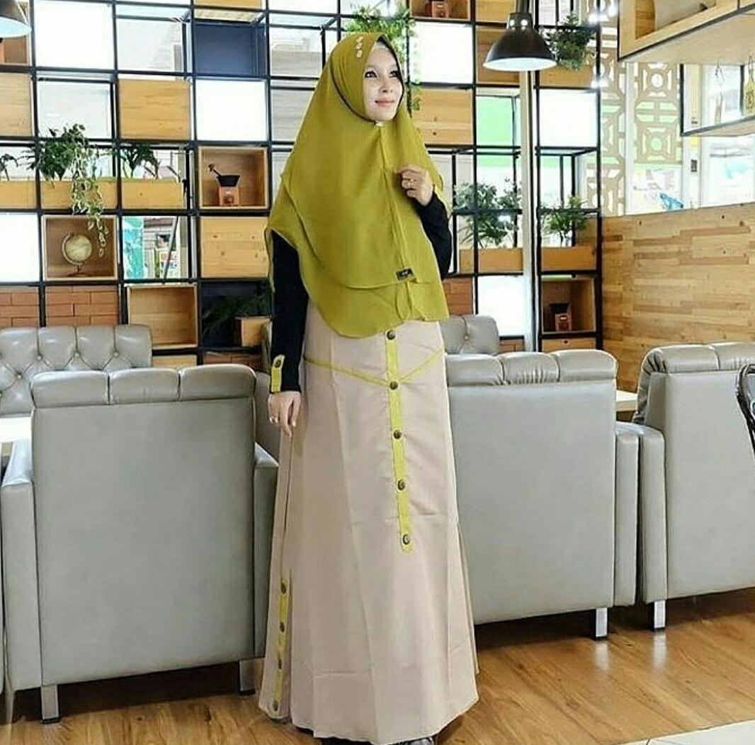 Gamis terbaru adera dress by viendra