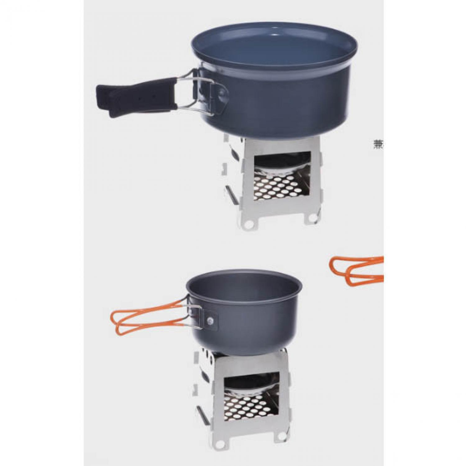 PROMO MURAH Outdoor Camping Folding Wood Stove Stainless Steel / Besi Kompor / Kompor outdoor