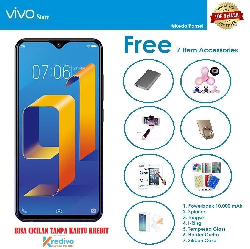 VIVO Y91 Ram 2GB/32GB + 7 Item Accessories - Bisa Cicilan tanpa Kartu Kredit