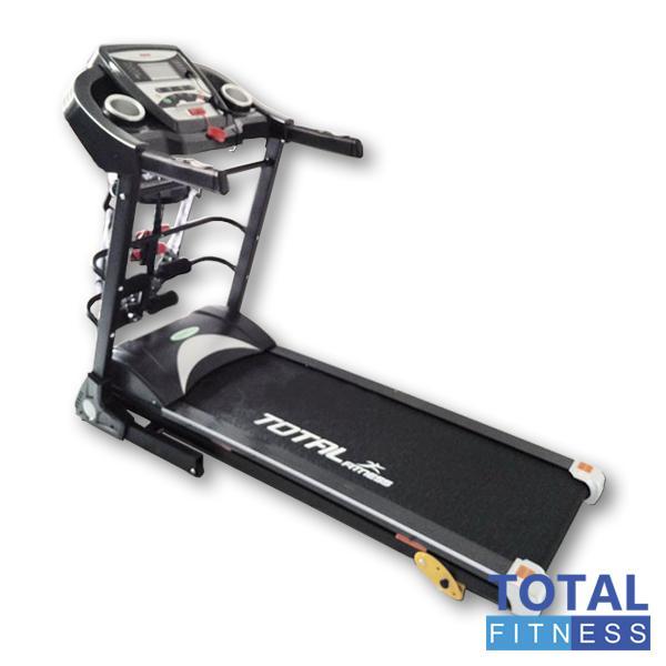 FREE ONGKIR JABODETABEK- Total Fitness - Treadmill Elektrik 3 Fungsi TL 8600 Motor 2.0 HP