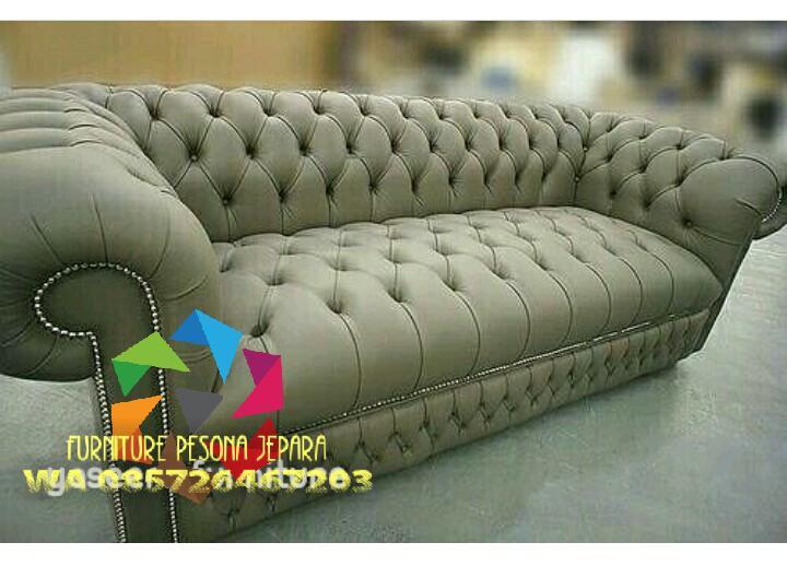 Sofa chester keluarga, Kursi sofa TV. PESONA JEPARA 06
