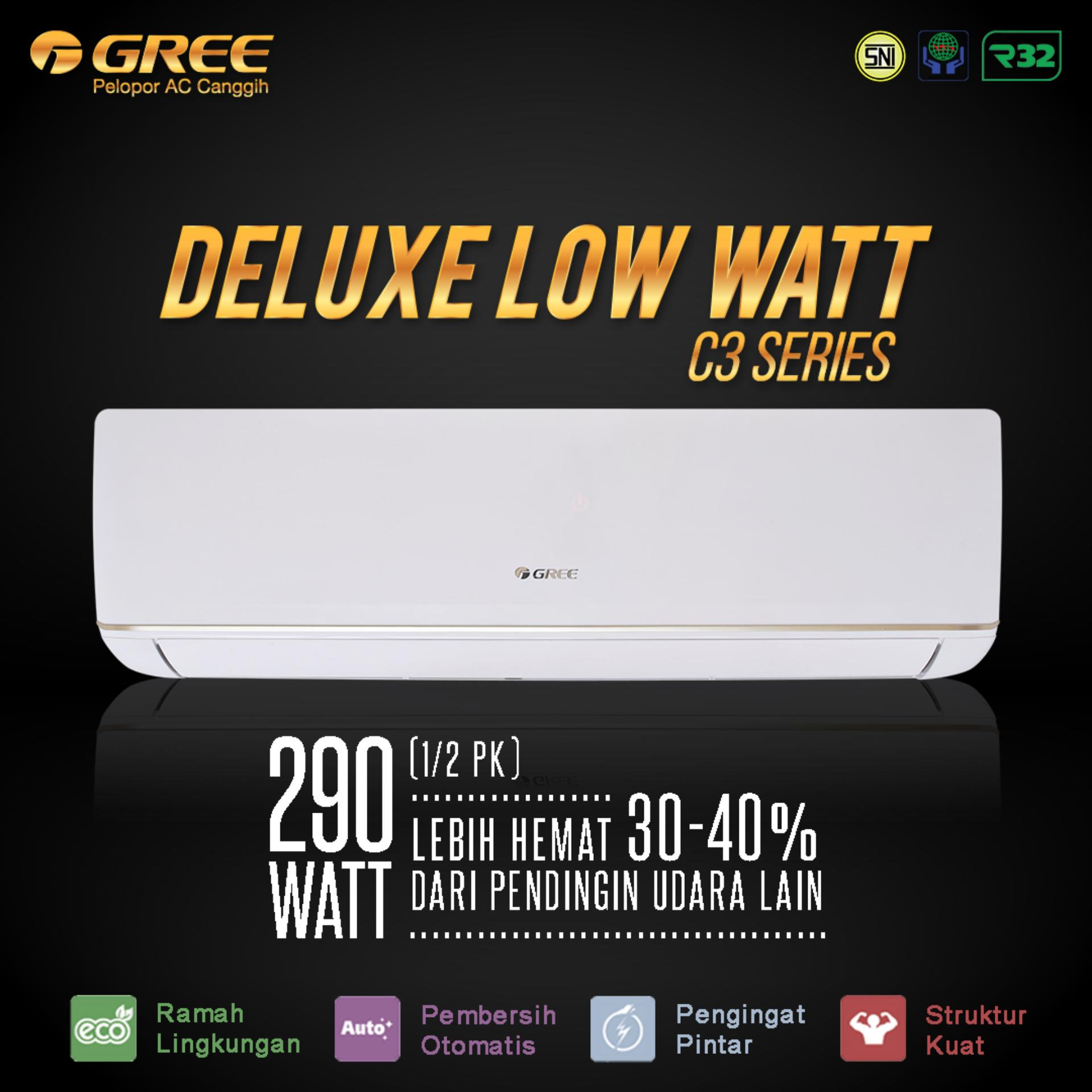 AC GREE 05C3 - Deluxe Low Watt Series (0.5PK) - Unit Only