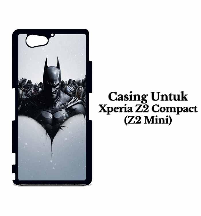 Casing XPERIA Z2 COMPACT Batman Arkham Origin Custom Hard Case Cover
