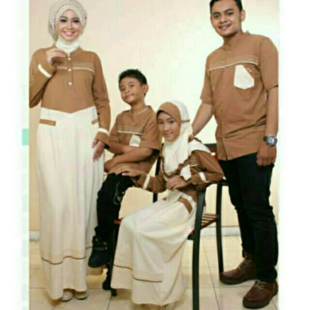 Sarimbit muslim seragam koko gamis ayah ibu dan anak couple keluarga branded baju terbaru termurah (Koko Anak No 2,4,6)