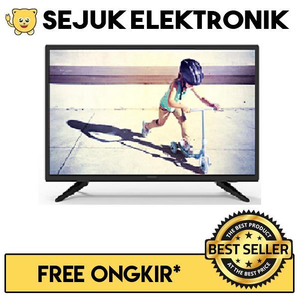 Philips 24 Inch LED TV 24PHA4003 Hitam (Free ONGKIR JAKARTA)