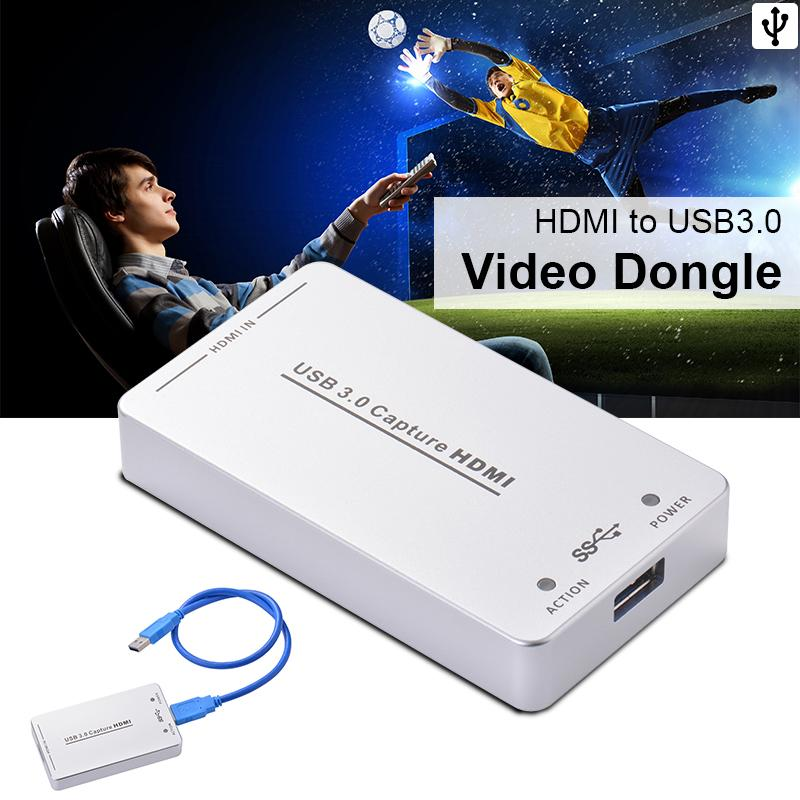 HDV-UH60 HDMI to USB3.0 Video Capture Dongle 1080P 60FPS Box for Windows AH234