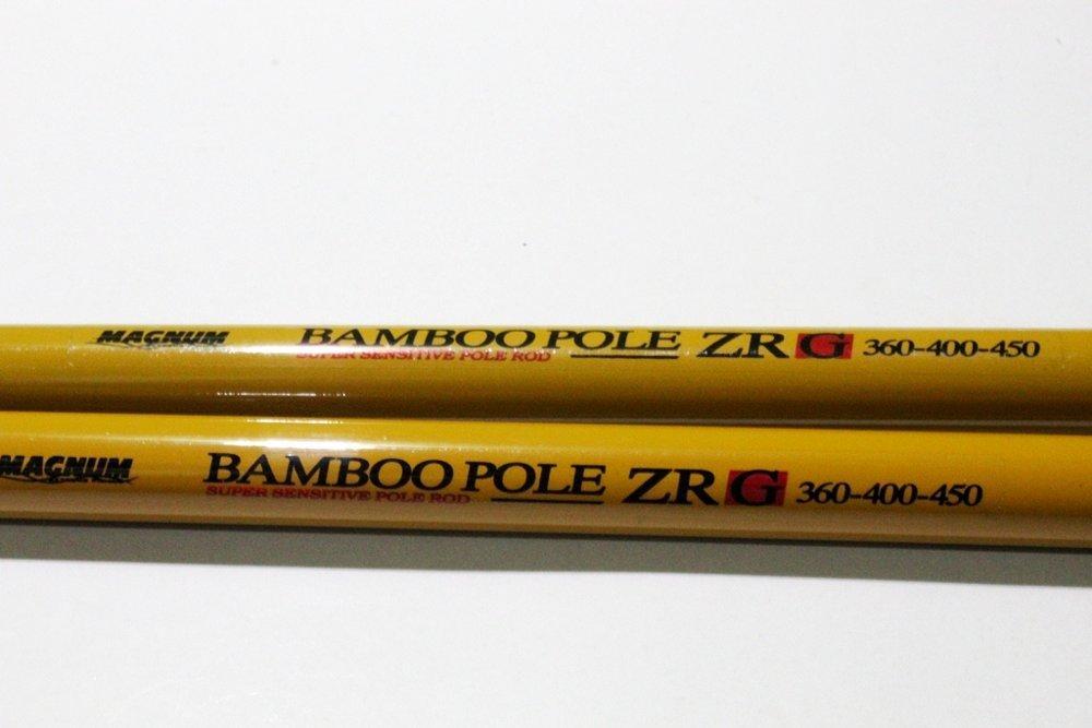 Joran Tegek Magnum Bamboo Pole ZR G Zoom Pole 360-400-450 Fiber