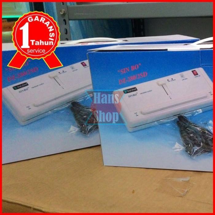 Mesin Vacuum Press Sealer Sinbo Dz-280/2Sd Garansi 1 Tahun - Ehwoxn