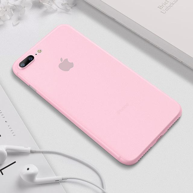 CAFELE ORIGINAL Case Apple iPhone 7 Plus 7+ iPhone 8 Plus 8+ Softcase Casing Back Cover Ultra Thin Tipis Matte Anti Fingerprint