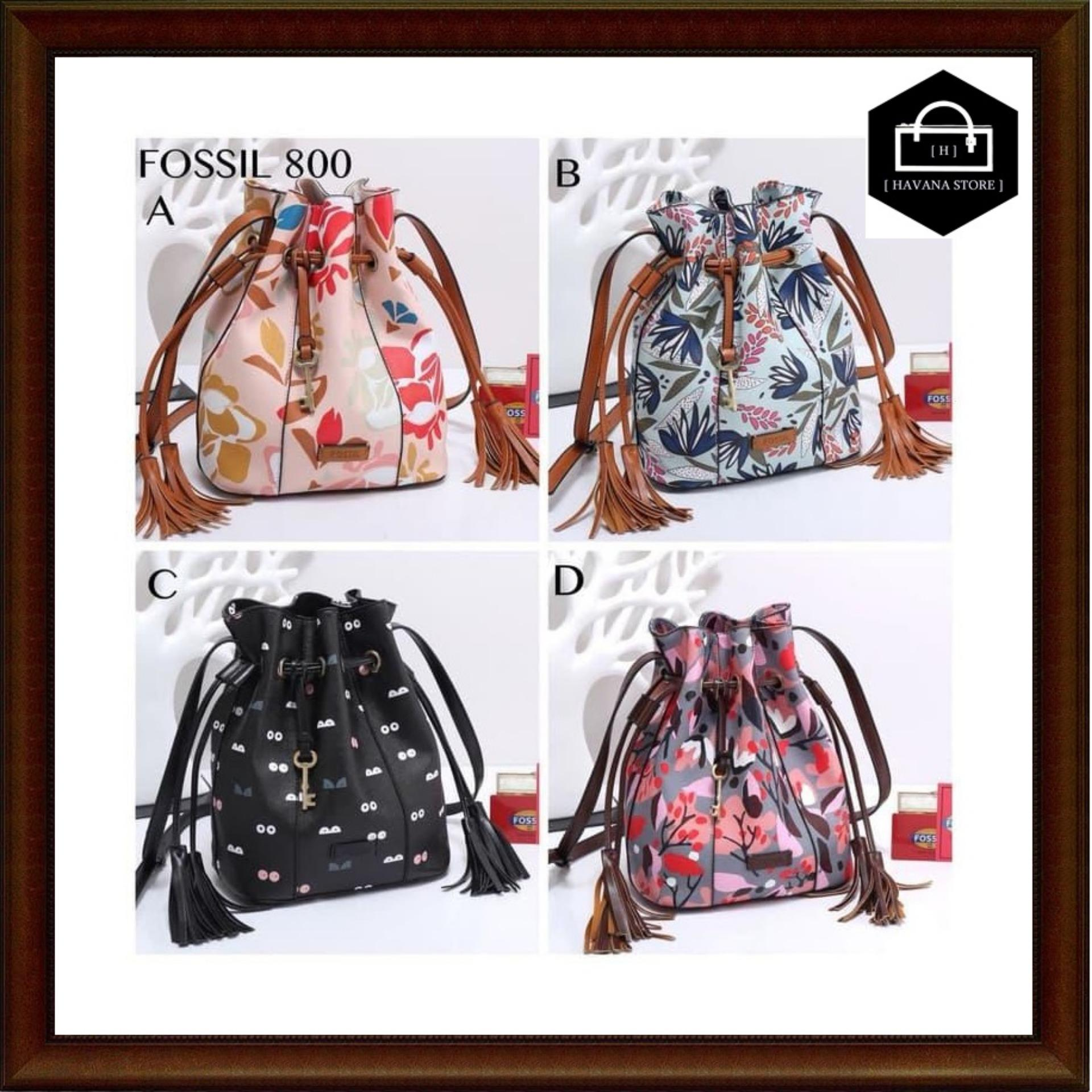 Buy Sell Cheapest Tas Fossil Serut Best Quality Product Deals Emma Satchel Dot Navy Wanita Sweety Taiga Printing Semprem 800 A675 Bag Branded Mirror