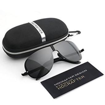 Beli sekarang HDCRAFTER Sunglasses Kacamata Hitam Pria HD Polarized Pantai  Mobil terbaik murah - Hanya Rp157.148 05479cf0d5