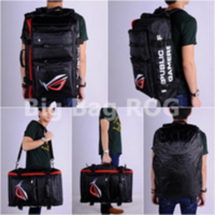 ASLI!!! Gaming Bag (Tas Gaming) Big Bag Backpack ROG Republic of Gamers - yN4WHp
