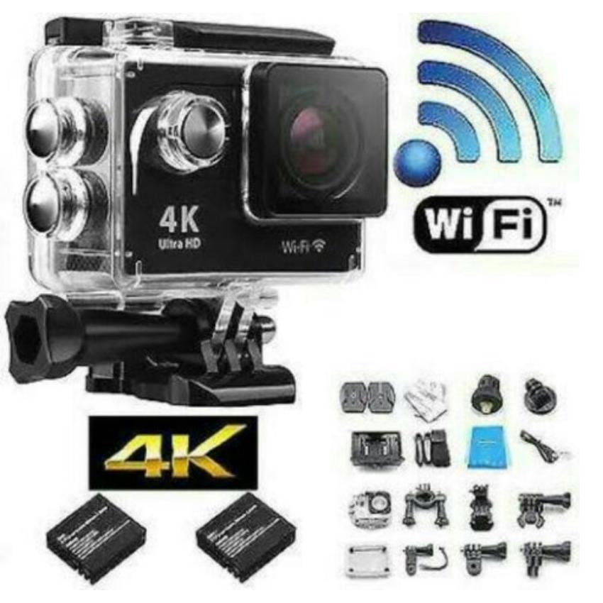 Kamera Gopro 4K Ultra HD DV Sport WIFI Action Kamera