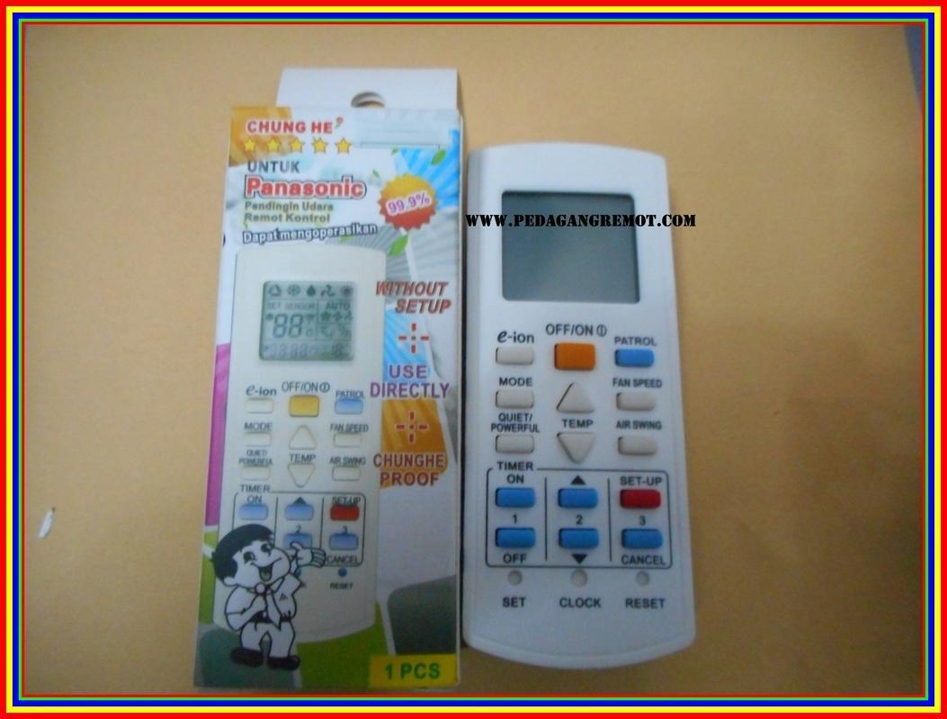 Remot Remote Ac Chung He Multi Universal Panasonic