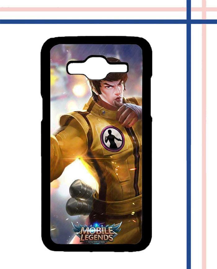 Casing HARDCASE Bergambar Motif Mobile Legend Hero CHOU Kungfu Boy K0232 untuk Handphone Samsung Galaxy J7 2015 SM-J700 Case