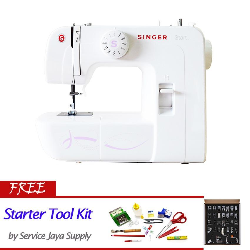 Singer 1306 Start Mesin Jahit Portable +FREE SJS Starter Kit