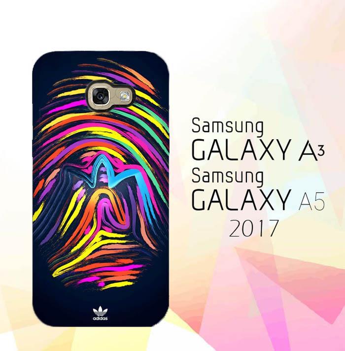Custom Hardcase Full Print Samsung Galaxy A5 2017 Full Colored Adidas Original Art Case Cover