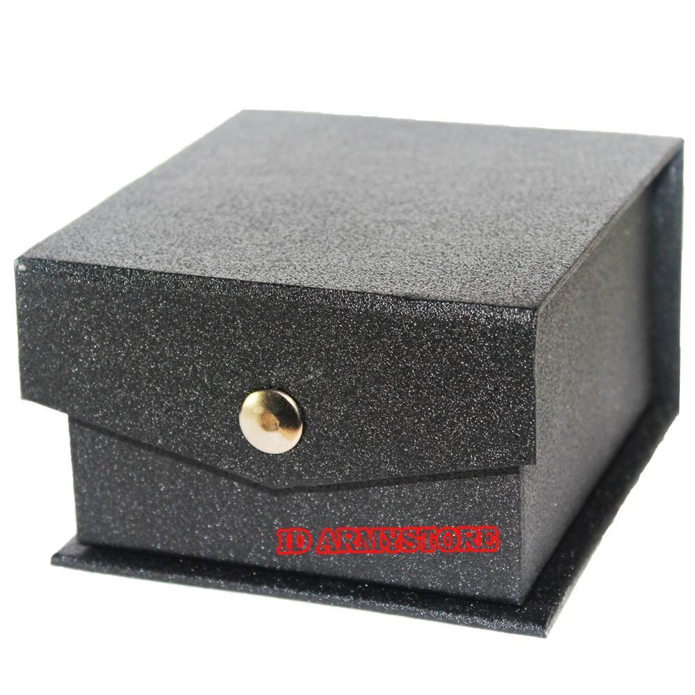 BOX Jam Tangan - Hitam Kancing BOX 2000-02