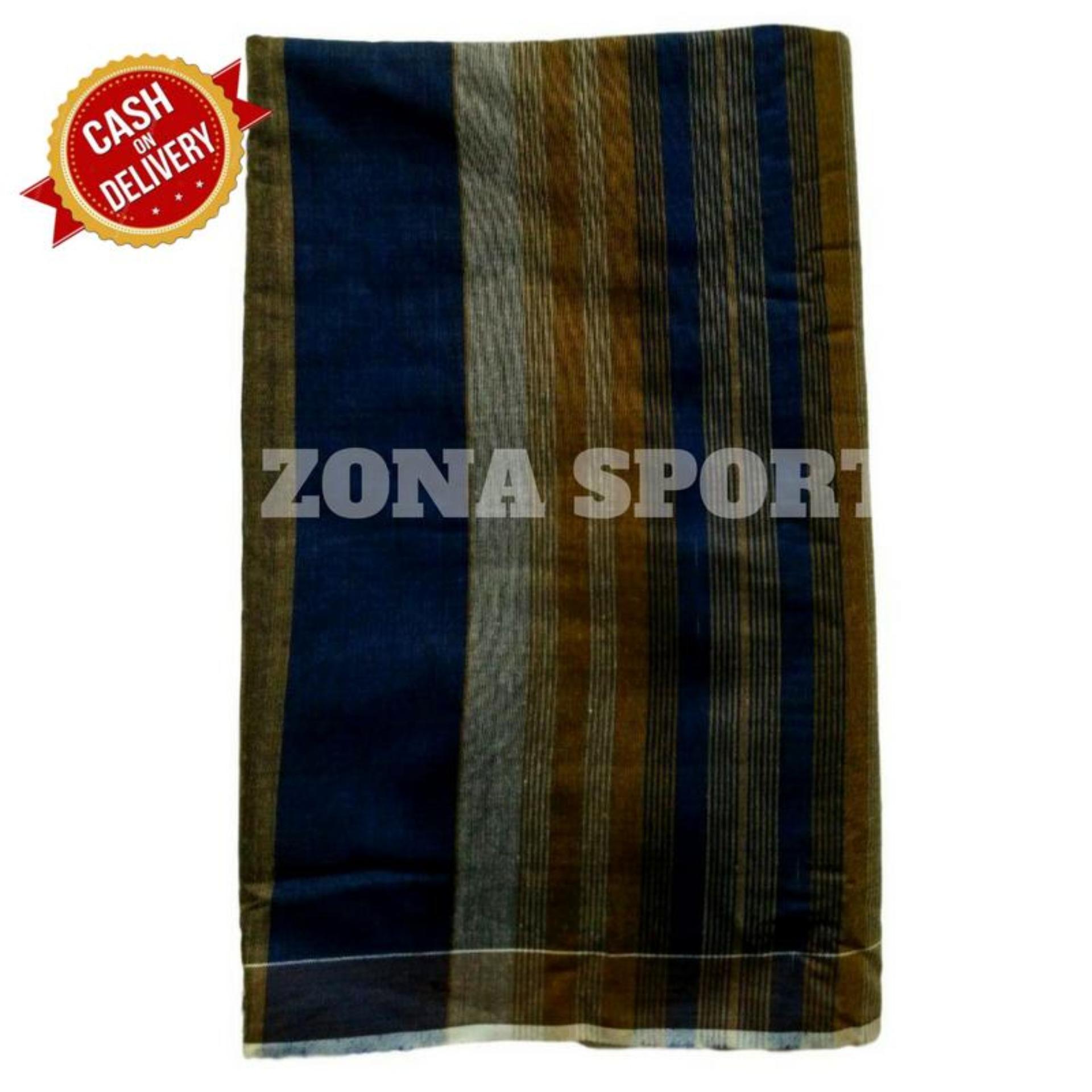 Zona Sports Sarung Muslim Eksklusif / Bukan Model Sarung Tangan Motor Celana Wadimor Gajah Duduk Songket Polos Bhs Bantal dan Songket / Sarung  Laki-laki Dewasa Murah - S701