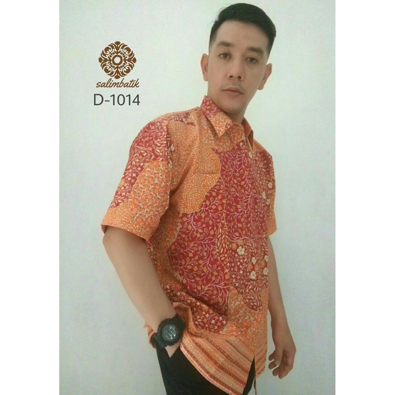 Danar Hadi Hem Batik Reguler Fit 1014 Orange