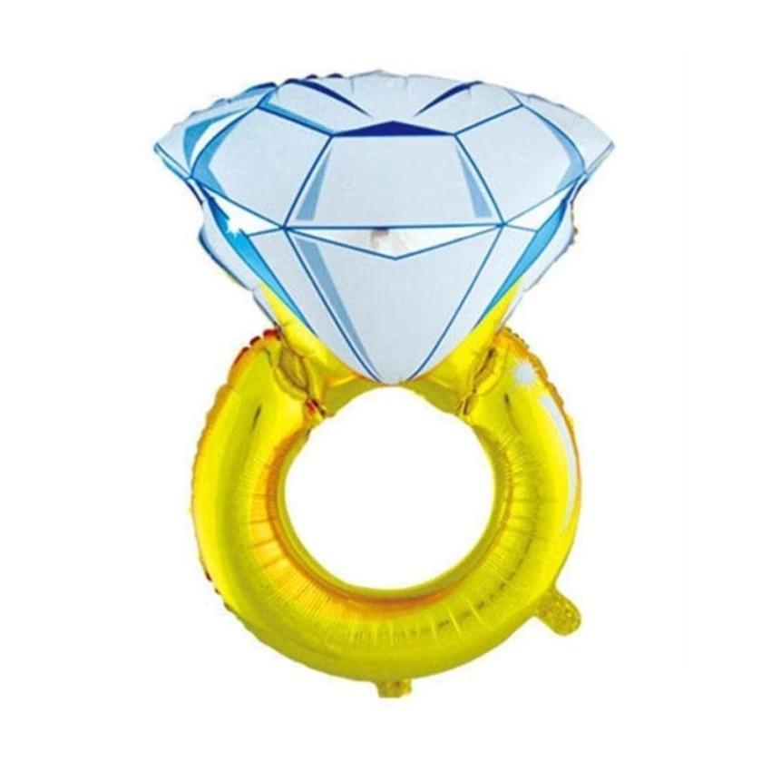 BALON FOIL CINCIN BALON FOIL BERLIAN DIAMOND 40CM
