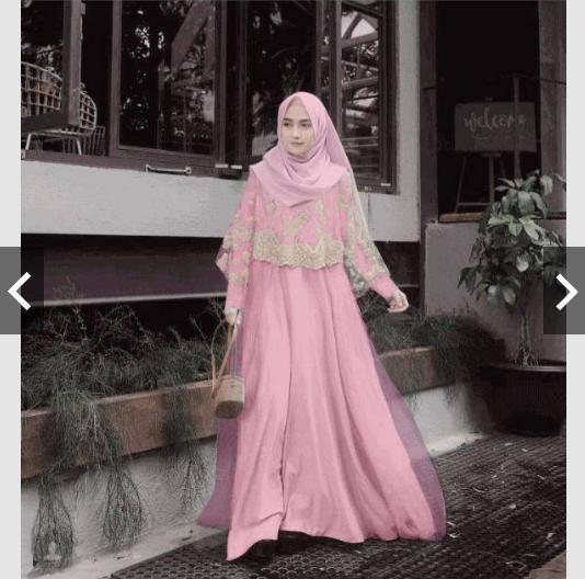 Info Harga Baju Pesta Muslim Elegan Terupdate Kabarna Network