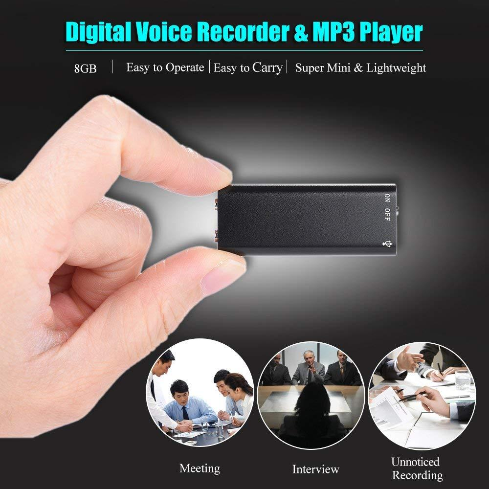 Beli Perekam Suara Vococal Store Marwanto606 Digital Voice Recorder Alat Mp3 Mini Spy Audio Usb 8gb Player