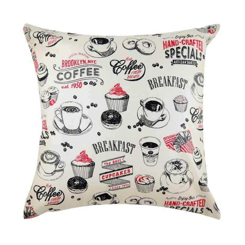 Eolins Coffee JSPS105 Bantal Sofa Unik Murah Minimalis