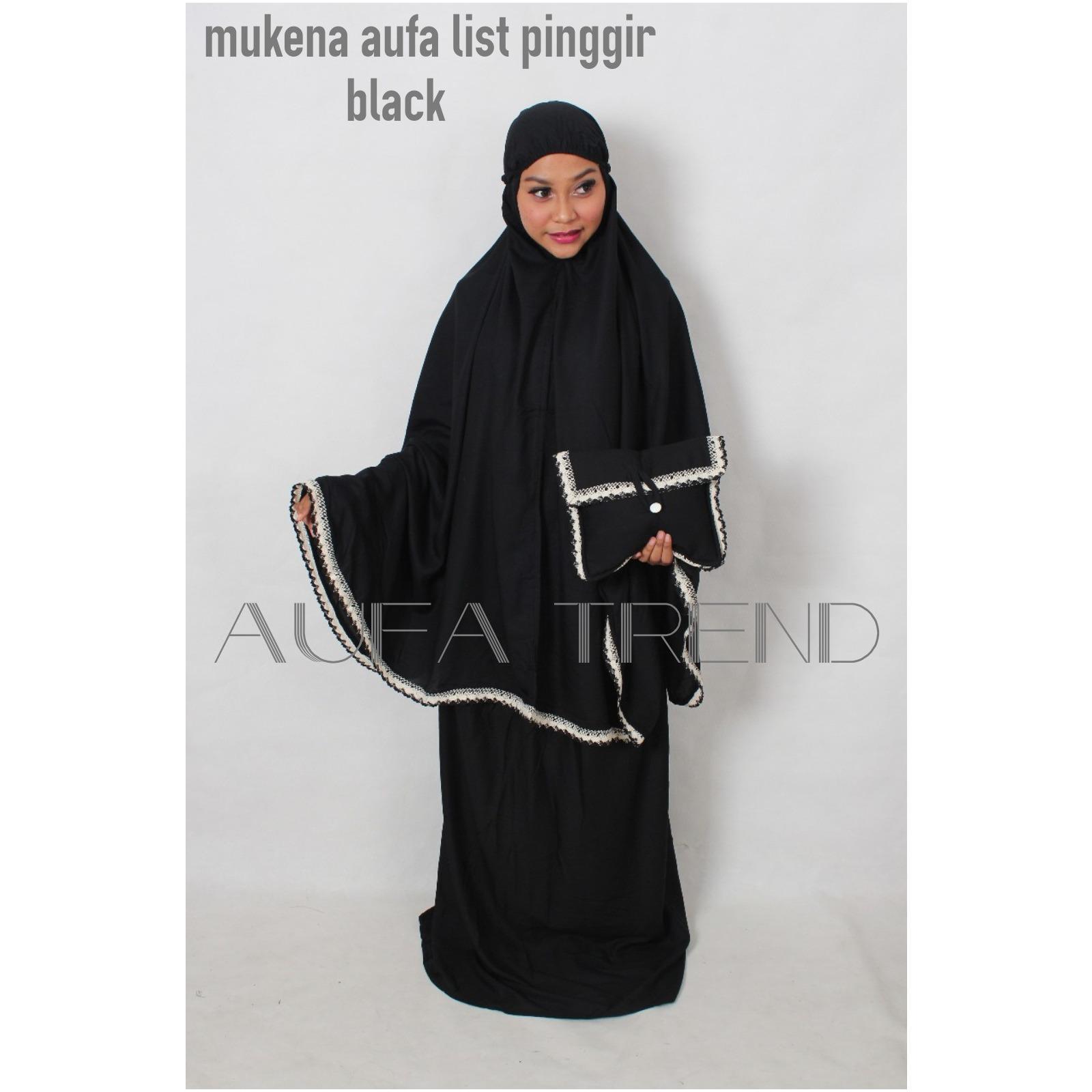 mukena muslimah remaja/mukena bali/mukena prada/mukena cotton rayon/mukena aufa renda pinggir bagus dan murah