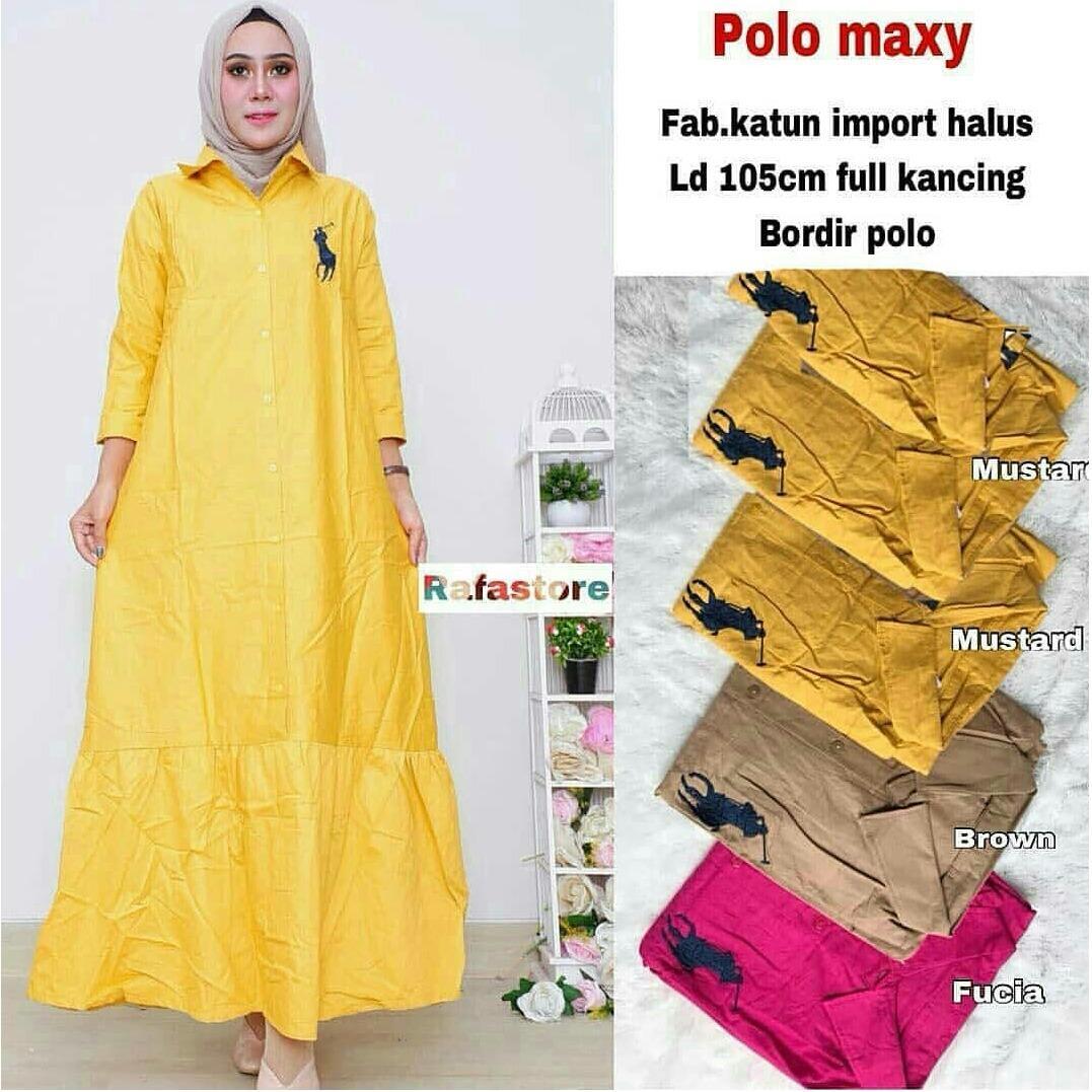 Buy Sell Cheapest Baju Polo Katun Best Quality Product Deals Clas Pria Crocodile Ori Men Shirt Slim Fit Dark Navy M Maxy Muslim Atasan Import