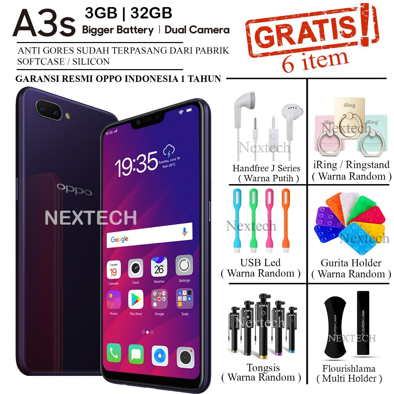 OPPO A3S 2018 - 3/32GB - GARANSI RESMI