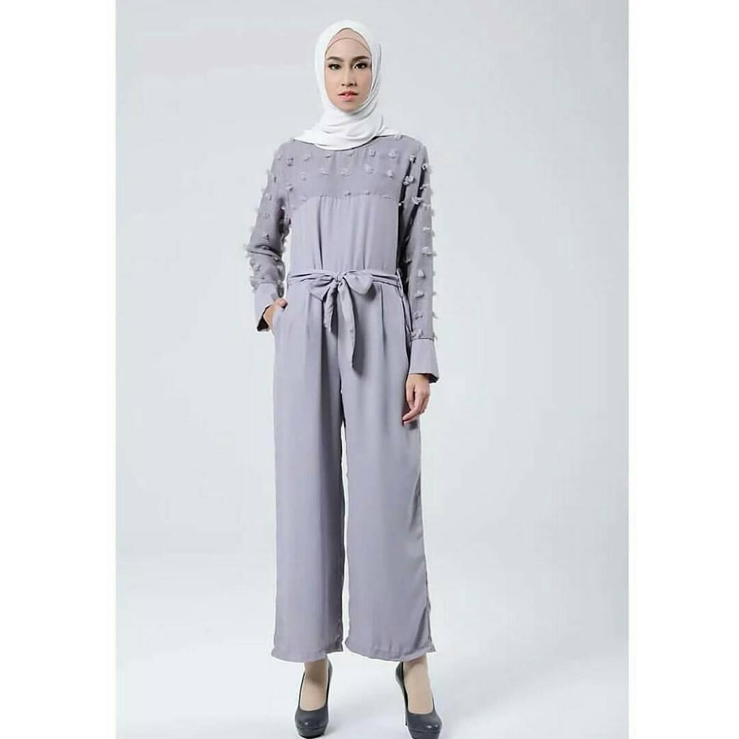 New Baju Original Sakha Jumsuit Balotely Setelan Atasan + Celana Rok Overall Fashion Wanita Pakaian Muslim Cewek Hijab
