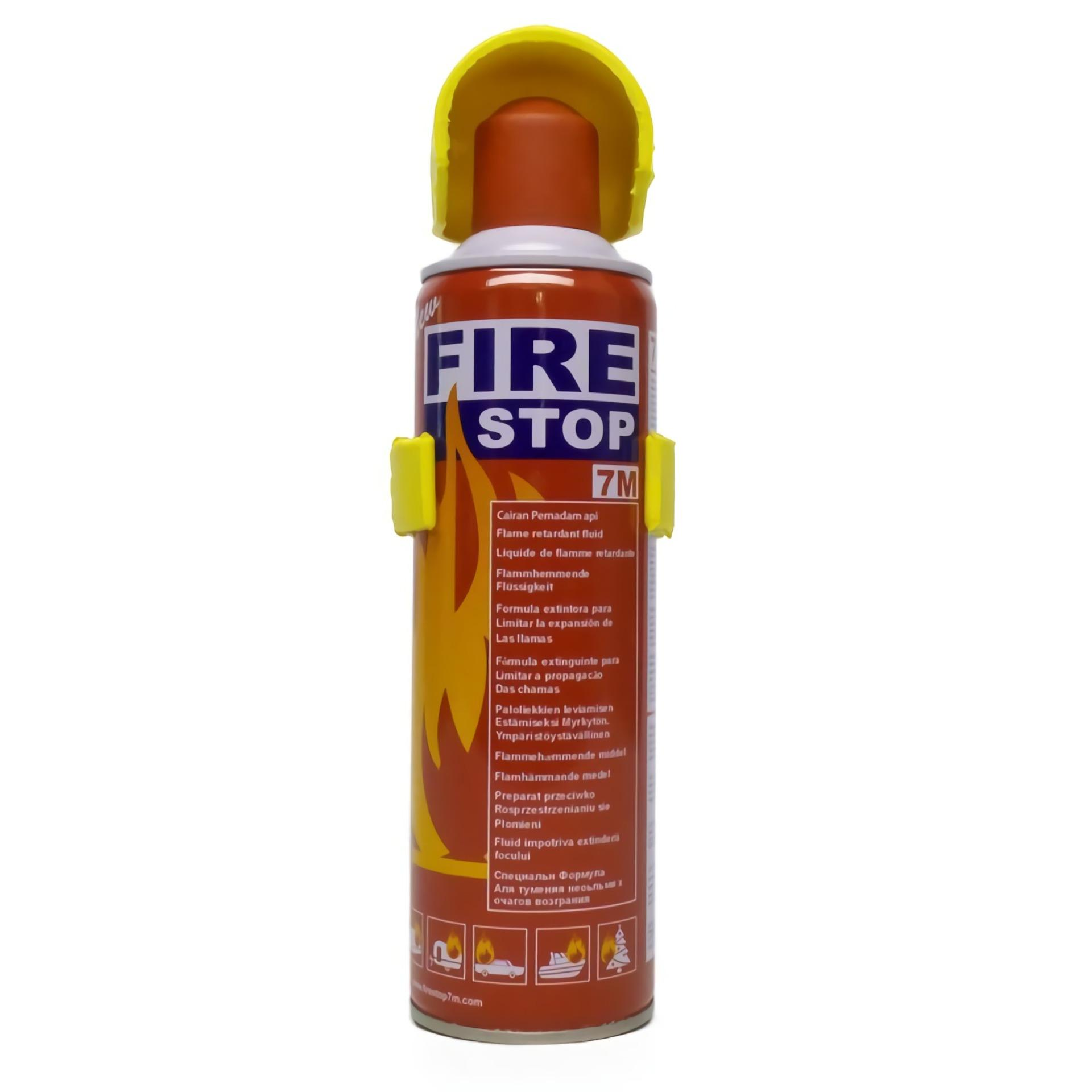 Setir Mobil Aksesoris Bantal Pelindung Kepala Otomobil Pemadam Api Tox Fire Stop Racun Portabel 400 Ml Extinguisher