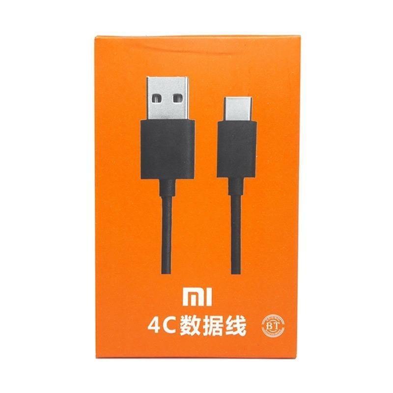 Xiaomi Cable Data Kabel Data Xiaomi Mi4c / Mi 4c / Mi 5 / Mi5 USB Type C 2A FAST CHARGING ORIGINAL With Box