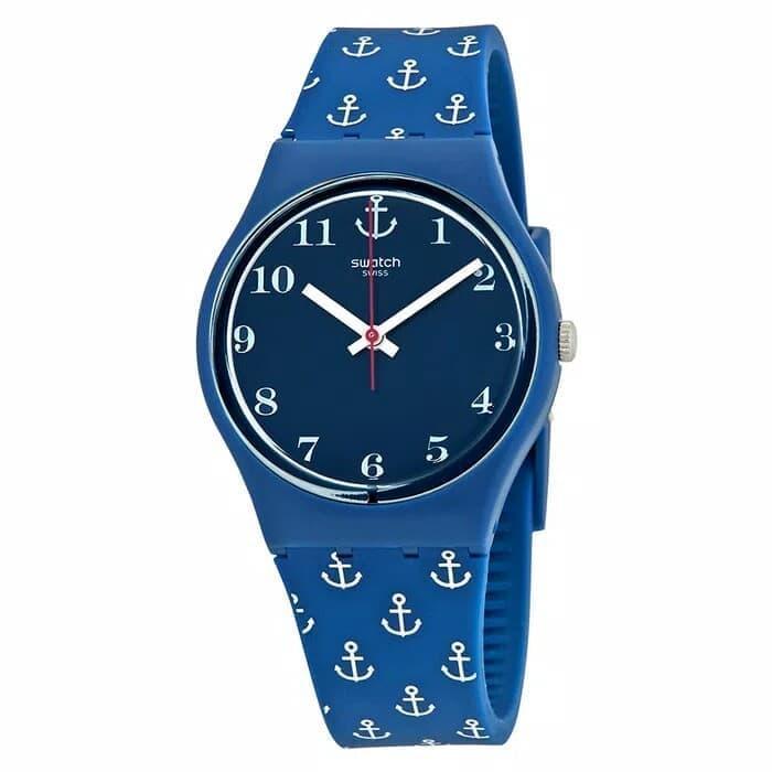 Swatch Analog Jam Tangan Karet Unisex GN247 Anchor Baby Original e264c91041