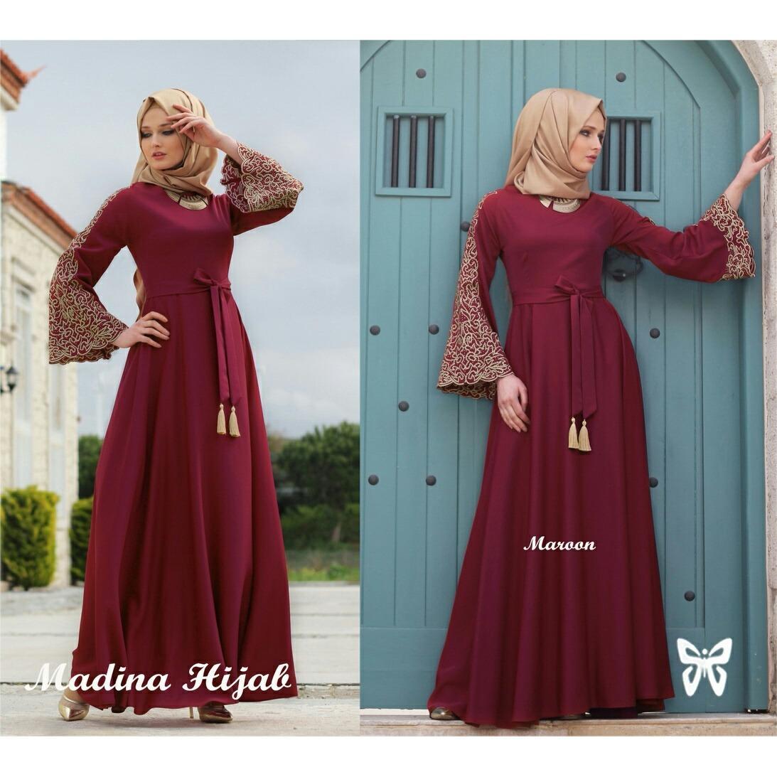 Gaun Kaos Oblong Wanita Aneka Warna Santai Merah Daftar Update Source · model baju batik atasan