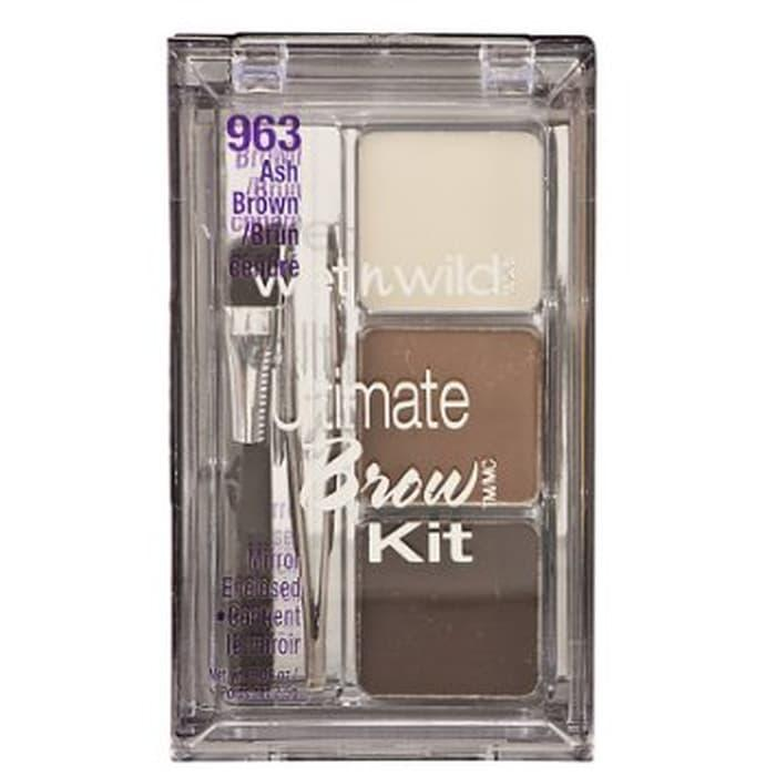 Ready Stock WET AND WILD ULTIMATE BROW KIT ASH BROWN