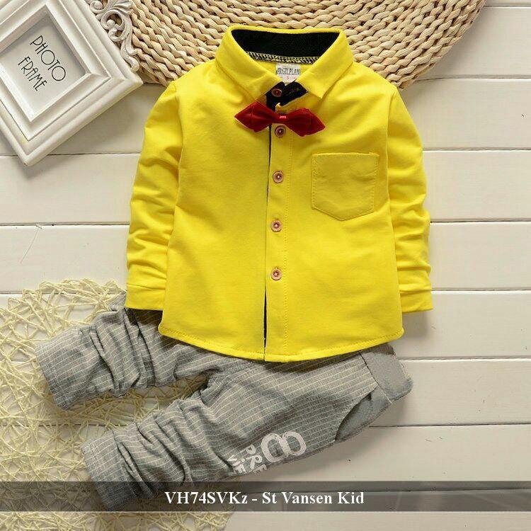 Setelan Kaos Anak Murah - Pusat Baju Anak Laki - Laki - VH74SVKz - st vansen fit 2-4 tahun