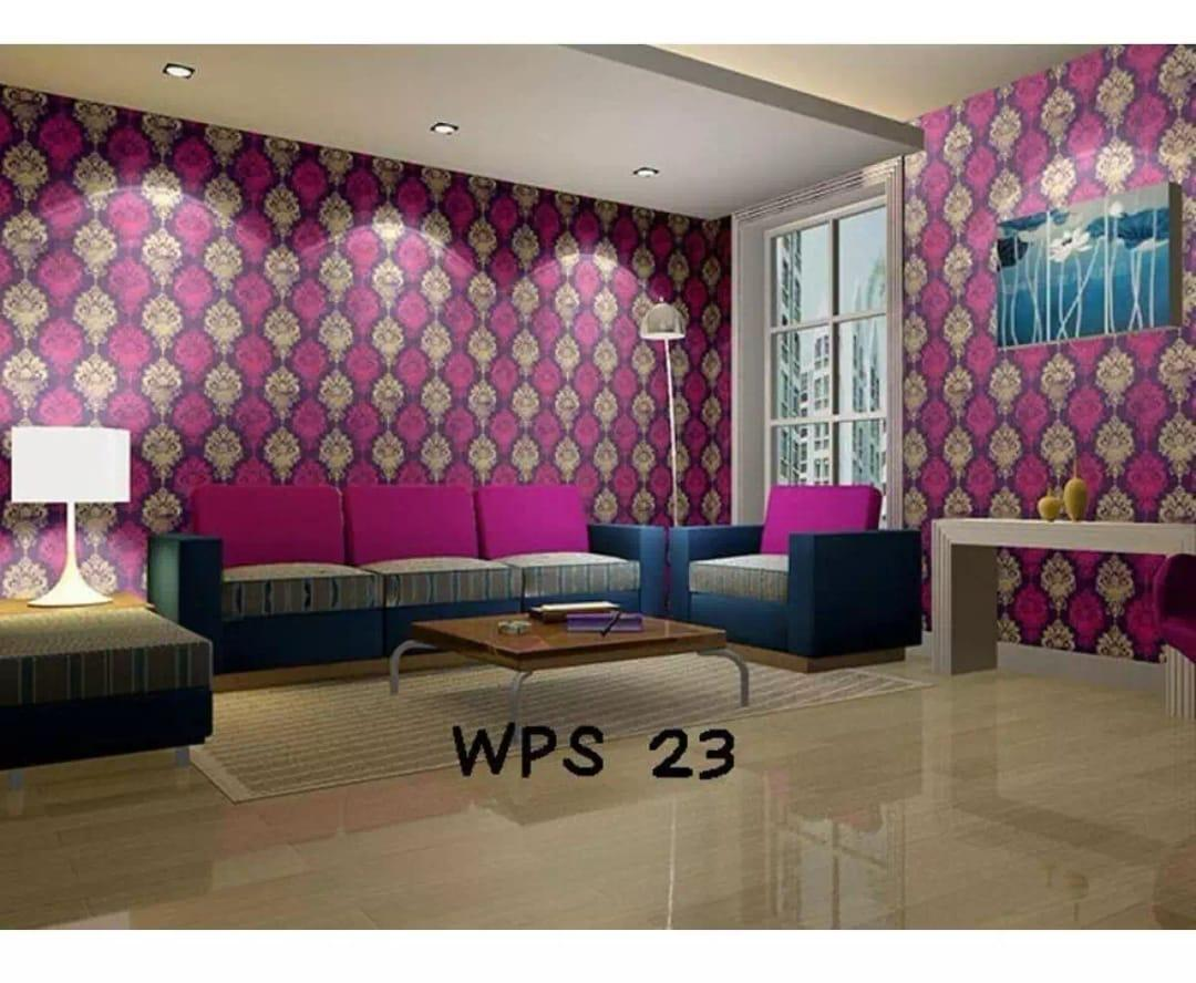 Sticker Wallpaper Premium PVC - Walpaper Sticker Dinding Motif Nature (Size 45cm X 10M)
