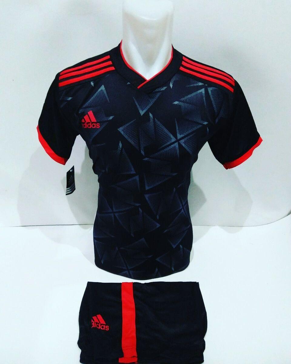 Baju Olahraga Jersey Bola Kaos Setelan Futsal Volly Adidas