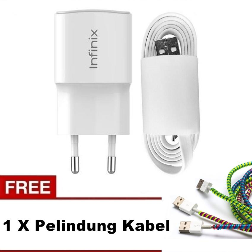 Travel Charger 2A Fast Charging For Infinix NOTE 2, HOT NOTE, ZERO 4 Original 100% + Free Spiral Pe