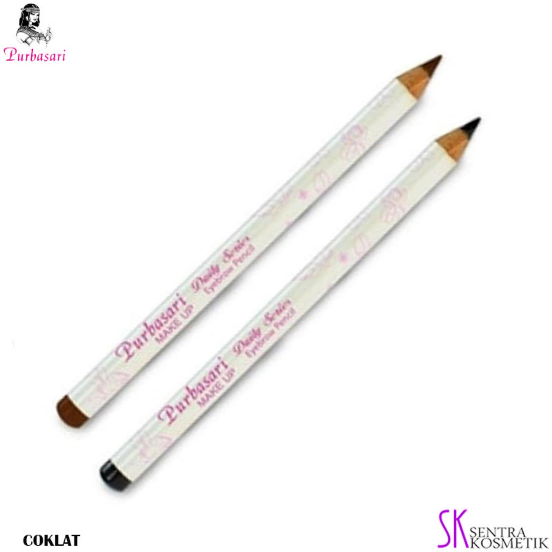 PURBASARI Daily Series EYEBROW Pencil  - COKLAT