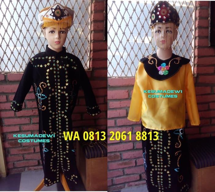 Promo: Daerah Betawi Couples |Baju Karnaval Adat Kostum Pentas Seni Anak - ready stock