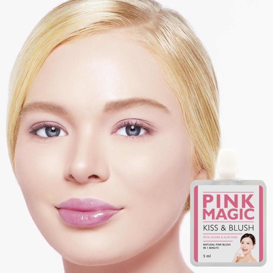 BRUNBRUN PARIS - Pink Magic Kiss & Blush