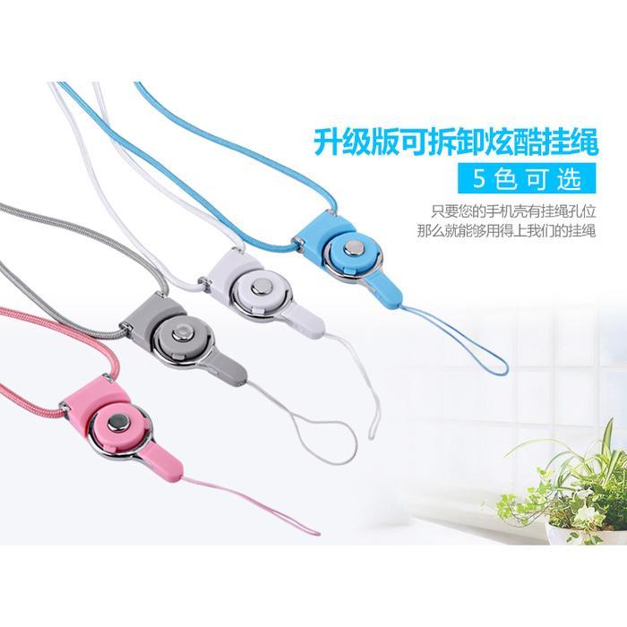 Kalung Detachable Lanyard Tali Gantungan Smartphone